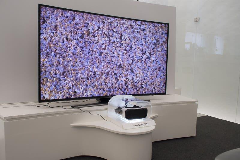 Шестерня VR Samsung стоковые изображения rf