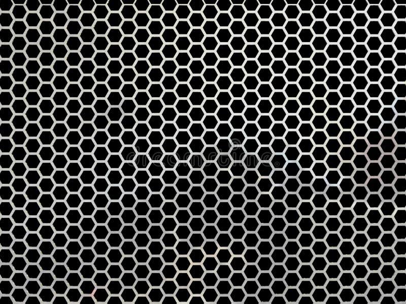 Шестиугольная сетка стоковые фото