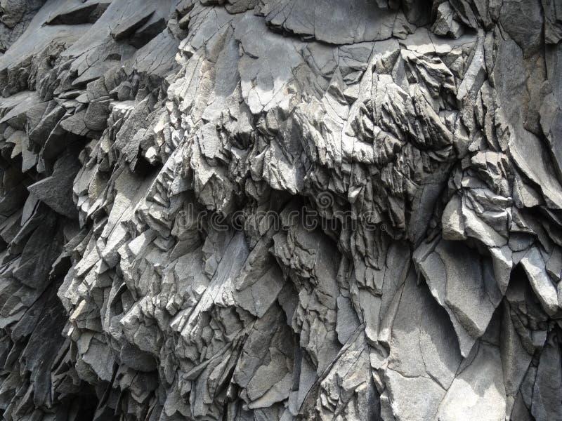 Шестоватый базальт стоковая фотография rf