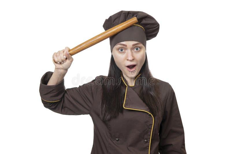 Шеф-повар вспомнил что-то стоковые изображения rf