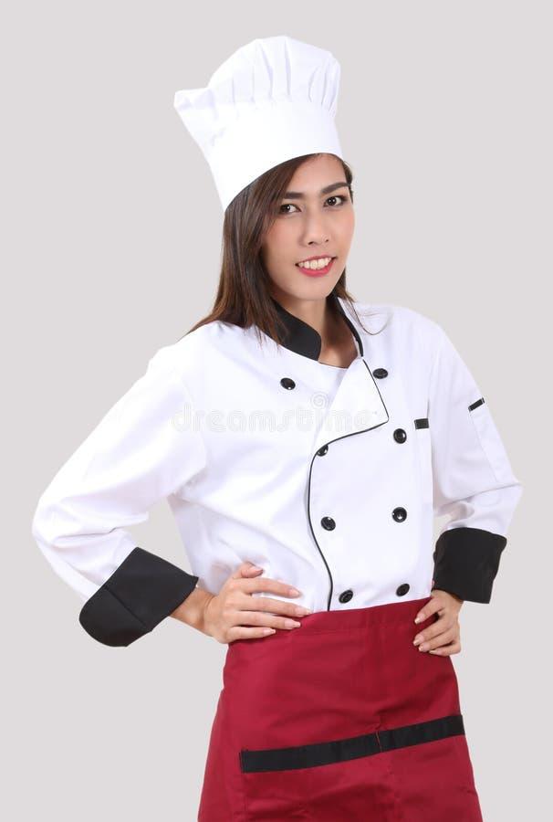Шеф-повар женщины стоковое изображение