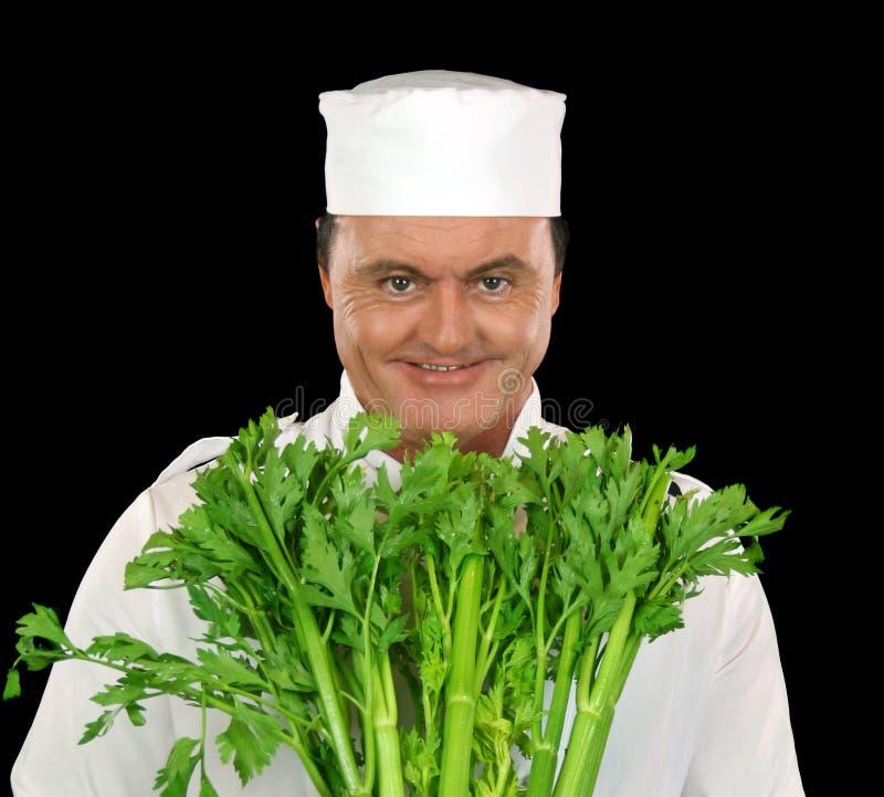 шеф-повар сельдерея стоковое изображение