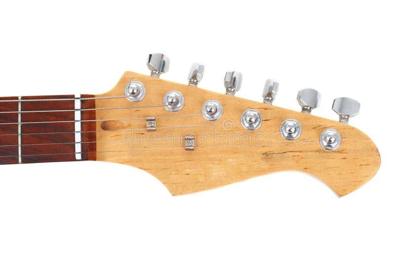 шея электрической гитары стоковое изображение