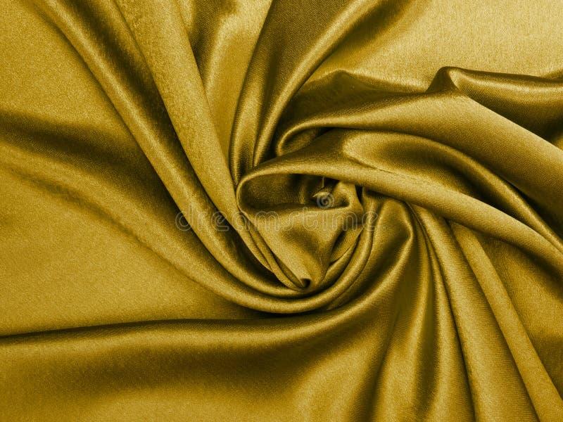 Шелк золота стоковая фотография rf