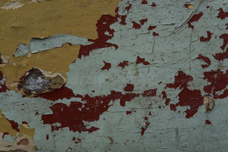 Шелушась краска 18 стоковая фотография
