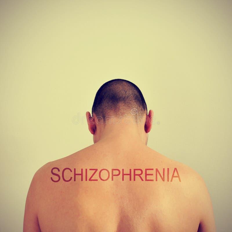 шизофрения стоковая фотография rf