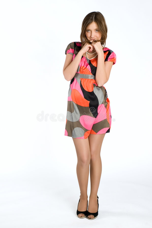 шикарная девушка стоковая фотография rf