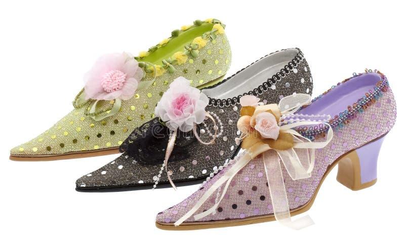шикарная женщина ботинок стоковое фото