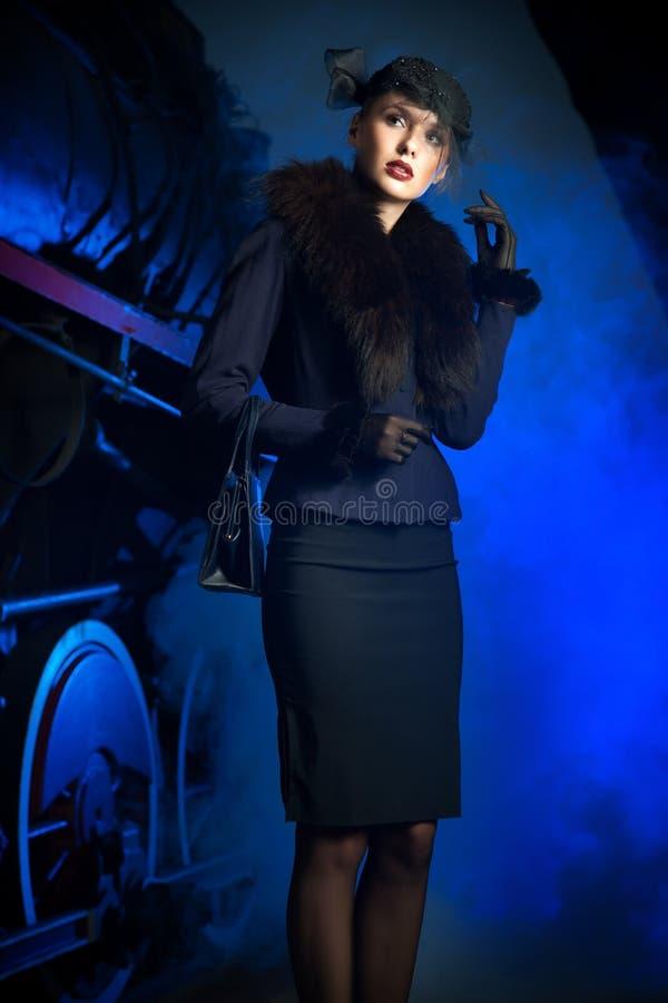 шикарная женщина стоковое изображение