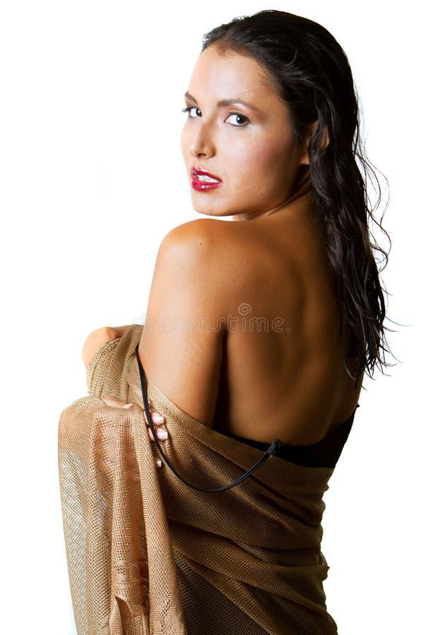 шикарная испанская женщина стоковые изображения rf