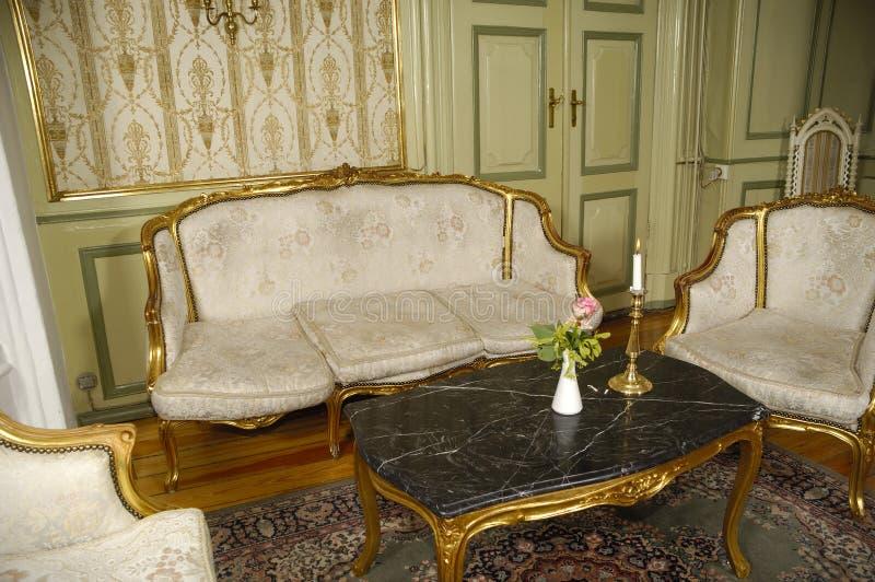 шикарная комната стоковое фото