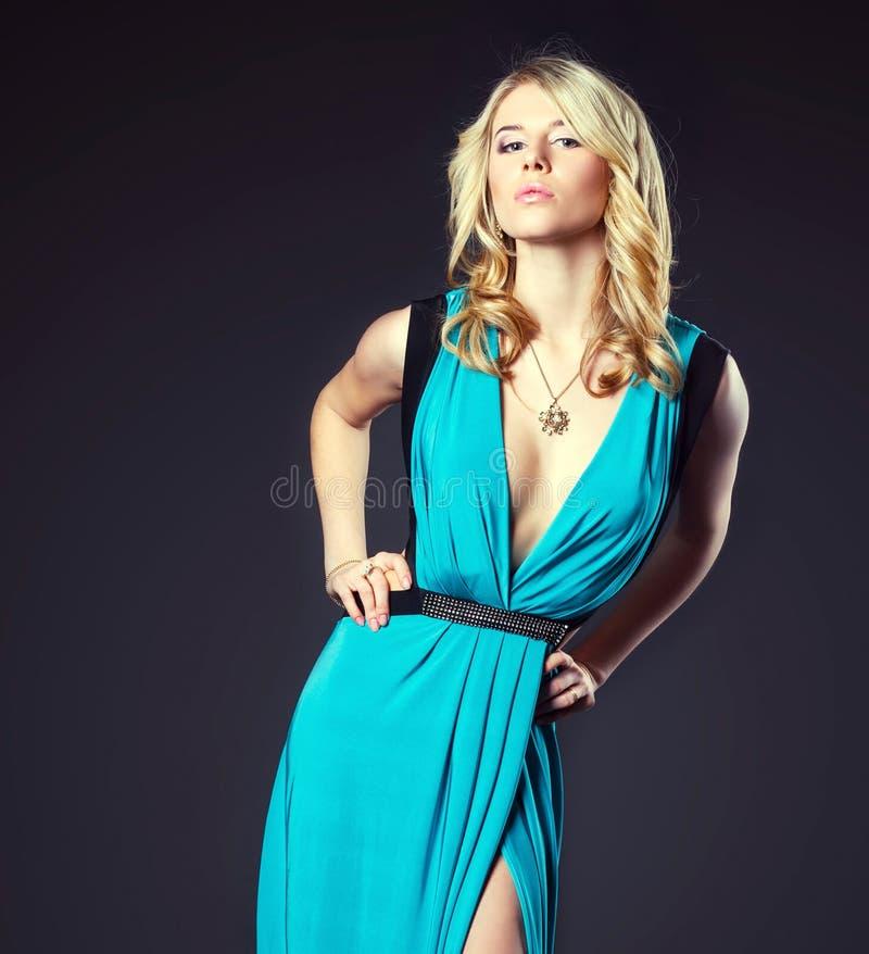 шикарная модная женщина стоковое фото rf