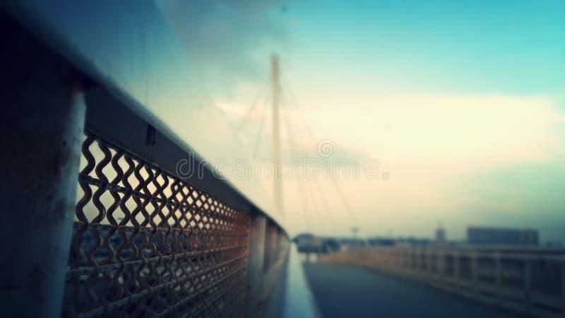 Шикарная съемка моста стоковое изображение rf