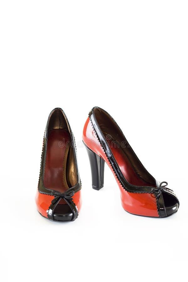 шикарные самомоднейшие ботинки стоковое изображение rf