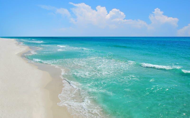шикарный взгляд океана стоковое изображение rf