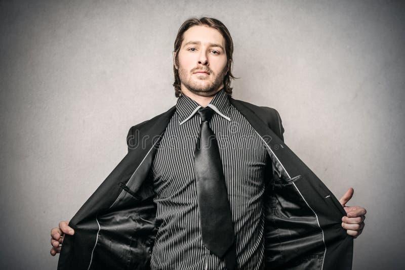 шикарный человек стоковое изображение