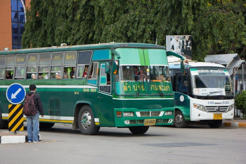 Шина бюджета Greenbus Компании стоковое фото