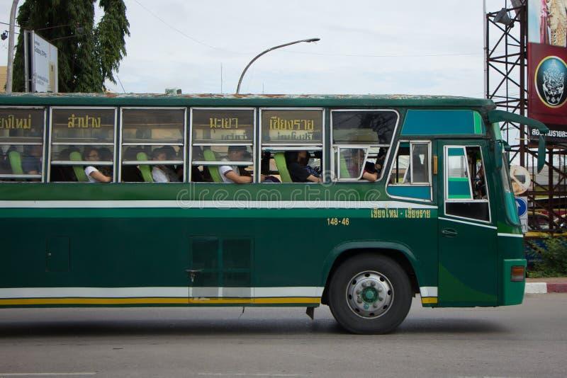 Шина бюджета Greenbus Компании стоковые изображения rf
