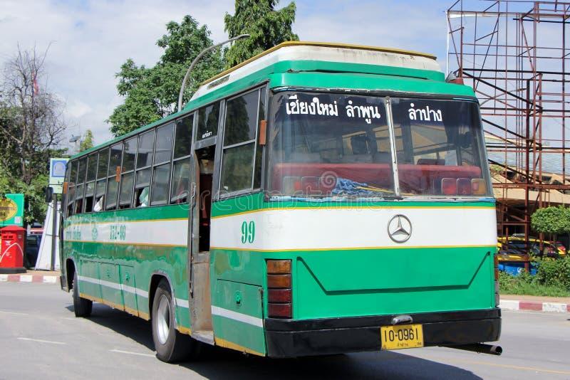 Шина Benz Greenbus Компании стоковые изображения rf