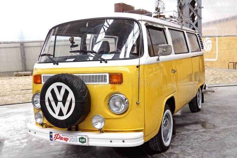 Шина T2 транспортера Фольксвагена винтажная - изображение запаса стоковое изображение