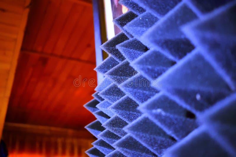 Шипы льда в студии музыки стоковые изображения rf