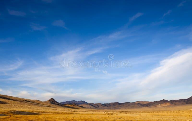 широкая пустыни открытая стоковые фотографии rf