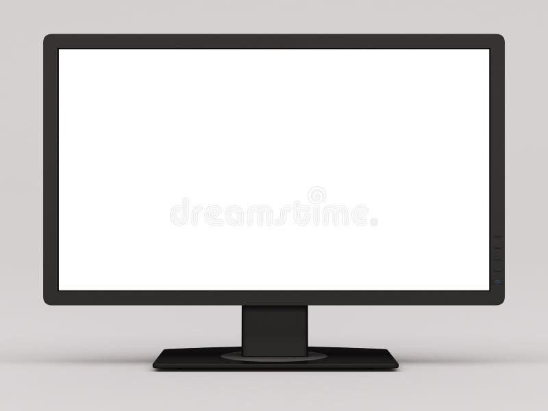 Широкий экран монитора стоковое изображение