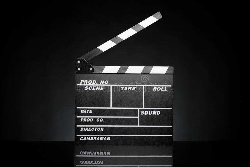 Шифер пленки стоковое изображение rf