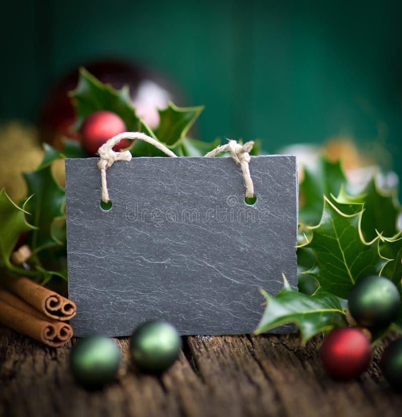 Шифер рождества стоковые изображения
