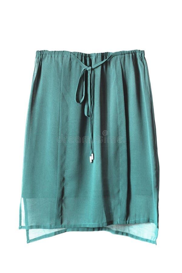 Шифоновая изолированная юбка стоковая фотография rf