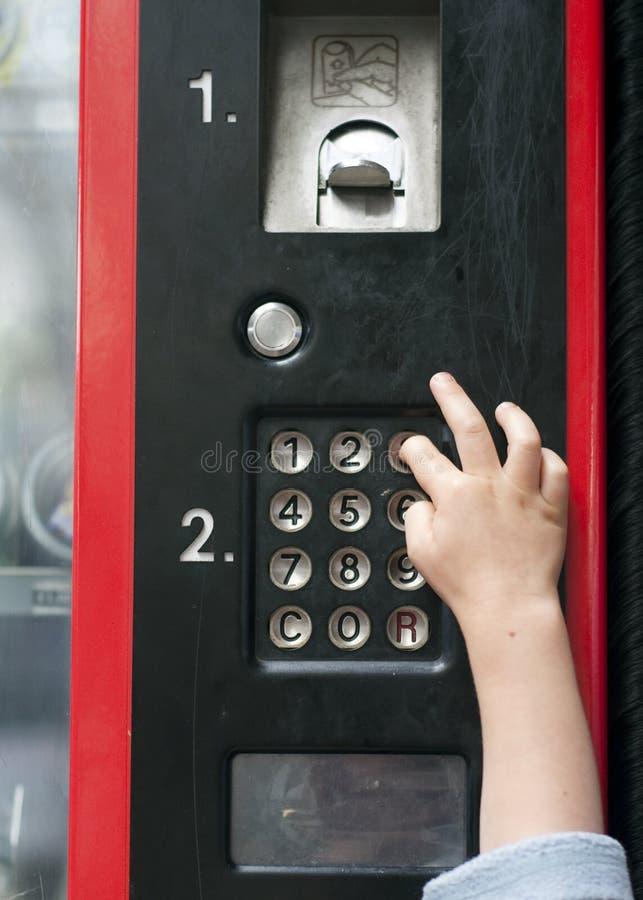 Шкала торгового автомата стоковые фотографии rf