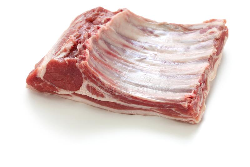 Шкаф овечки Lozere, сырого мяса стоковая фотография rf