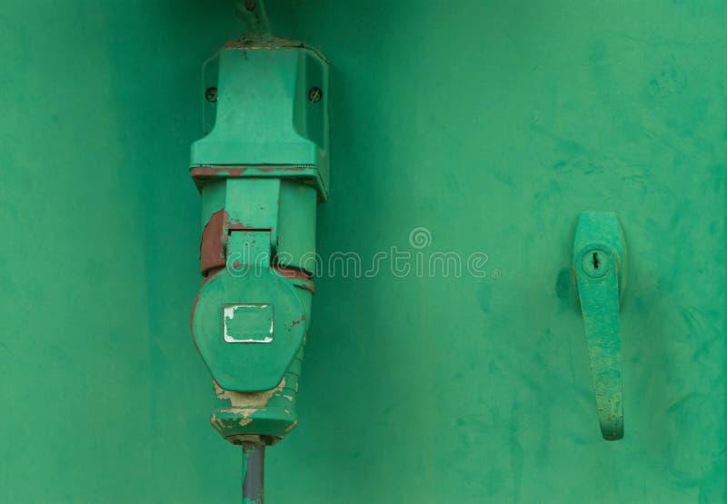 Шкаф для электротехнического оборудования стоковое изображение rf