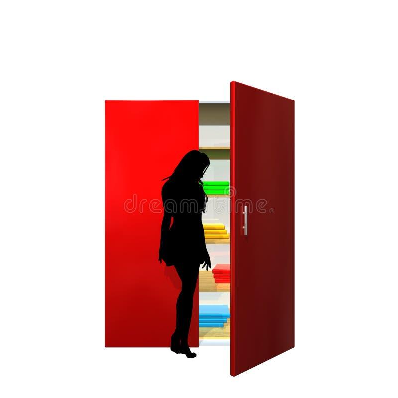 шкаф стоковое изображение