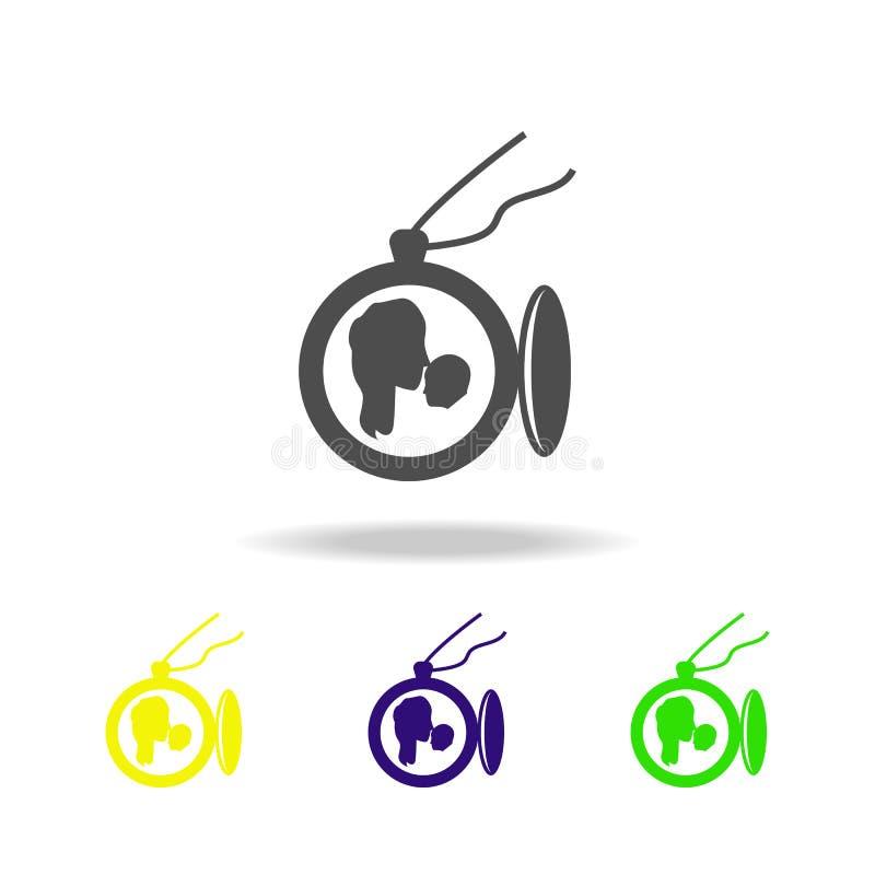 шкентель с фото моих значков матери пестротканых Элемент значка дня матерей Знаки и значок собрания символов для вебсайтов, бесплатная иллюстрация