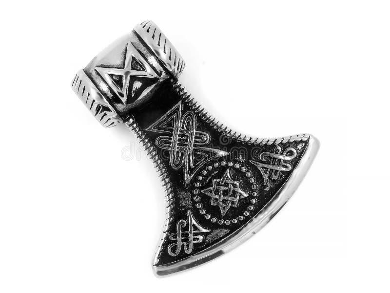 Шкентель ювелирных изделий для нержавеющей стали оси людей кельтской стоковые фото