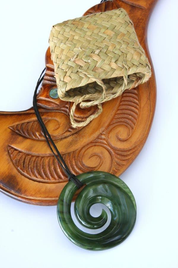 шкентель koru greenstone стоковая фотография rf