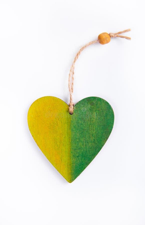 Шкентель от дерева в форме сердца стоковое изображение rf