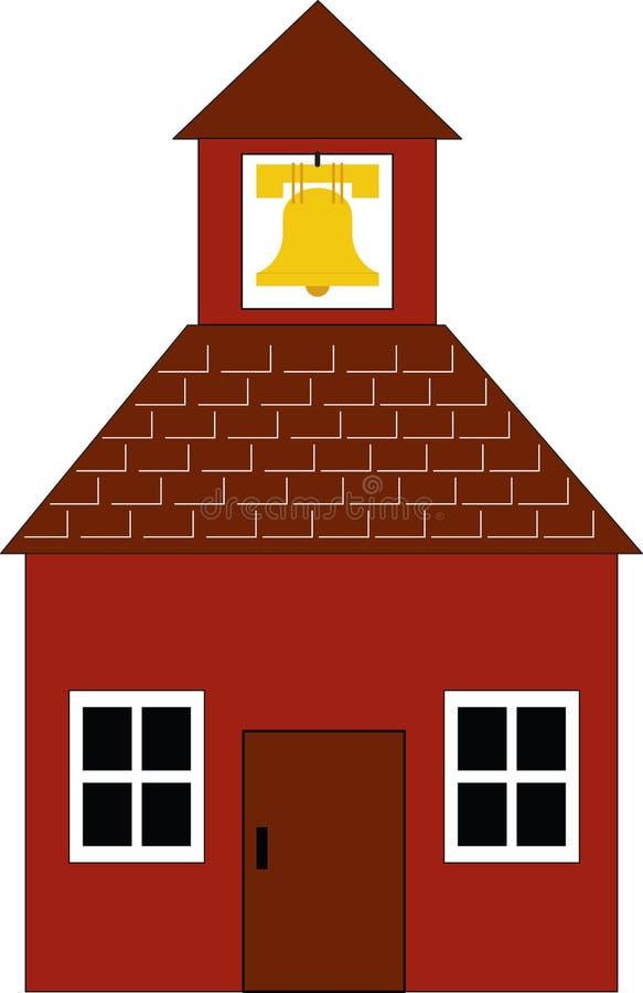 школа дома иллюстрация вектора