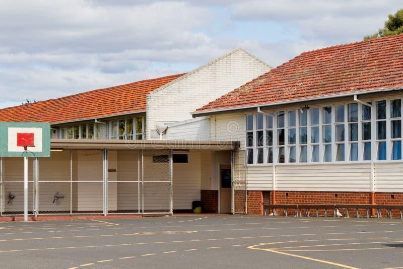 школа зданий стоковое изображение