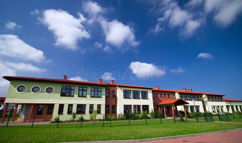 школа здания стоковая фотография rf