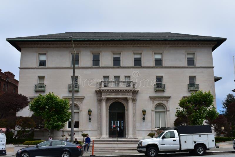 Школа священного сердца Сан-Франциско, особняка потока, 1 стоковые фотографии rf