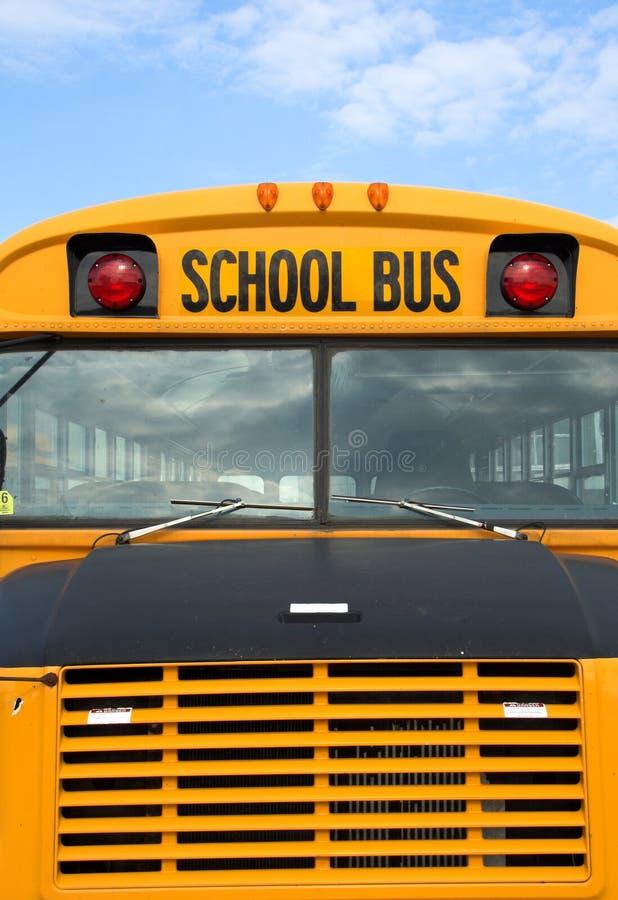 школа шины стоковое изображение