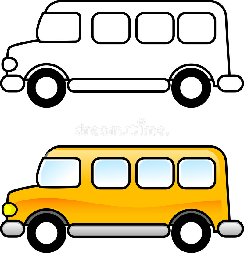 школа шины бесплатная иллюстрация