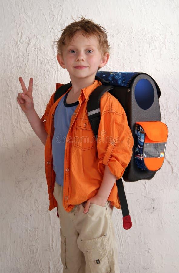 школьник стоковое изображение rf
