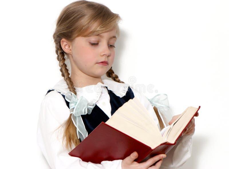 школьница рук книги стоковое фото