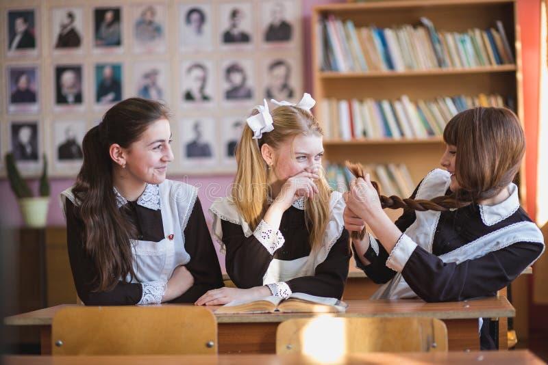 Школьницы стоковое изображение