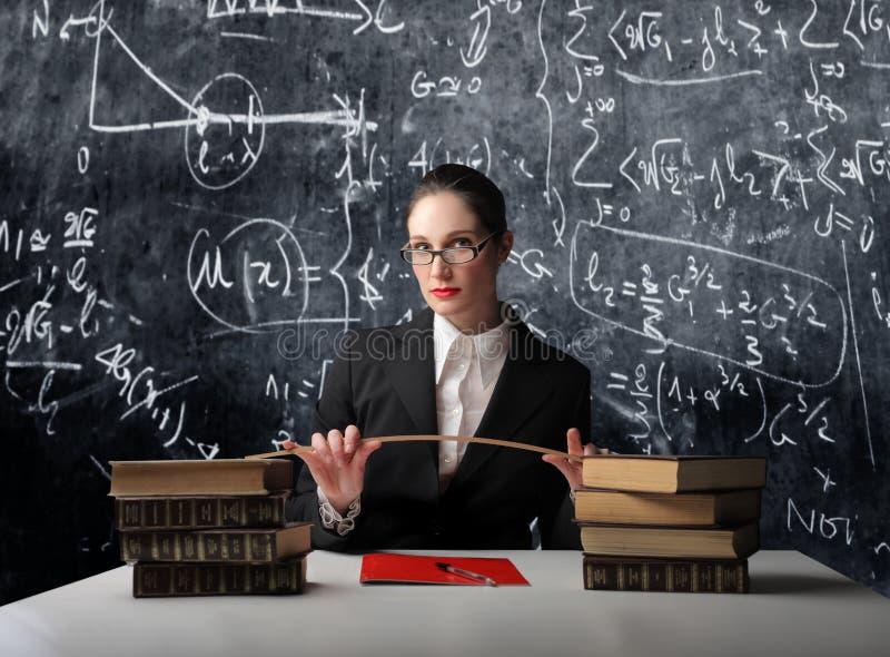 школьный учитель стоковая фотография