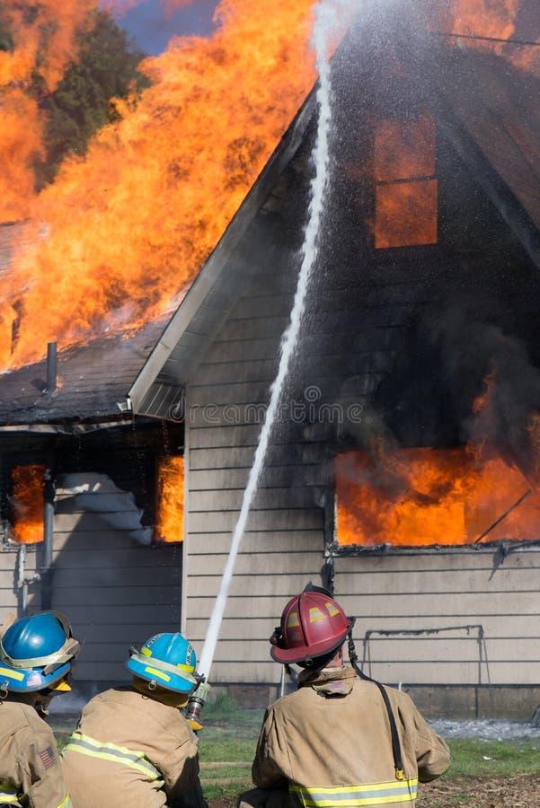 Школа пожарного стоковая фотография rf