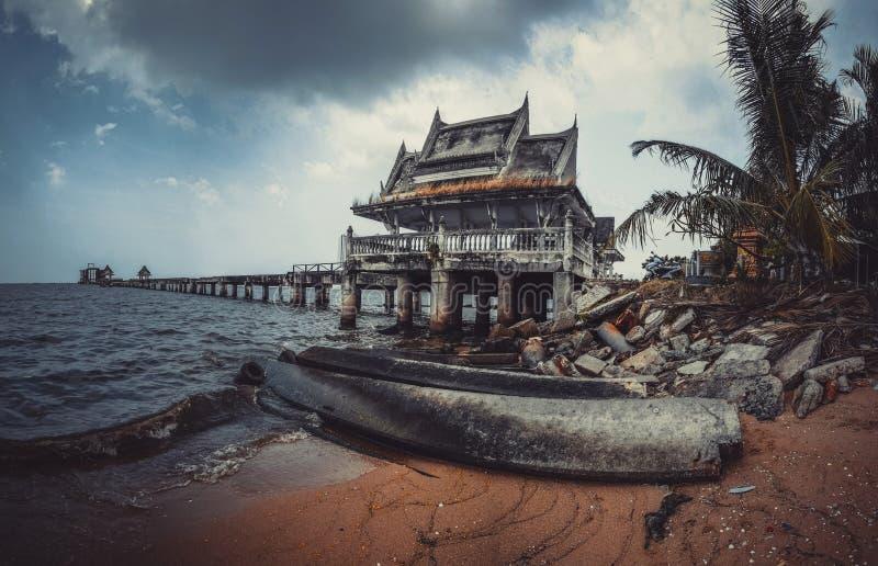 Школа Jittapawan буддийская - Таиланд стоковая фотография rf